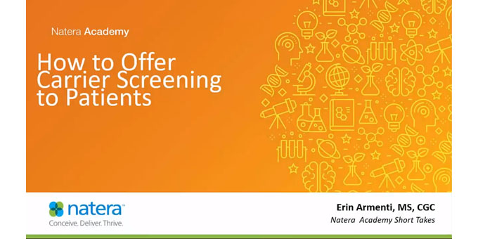 Offering Carrier Screening to Patients
