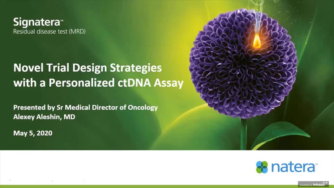 Novel Trial Design Strategies with a Personalized ctDNA Assay